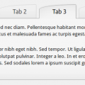Example of tabs shortcode